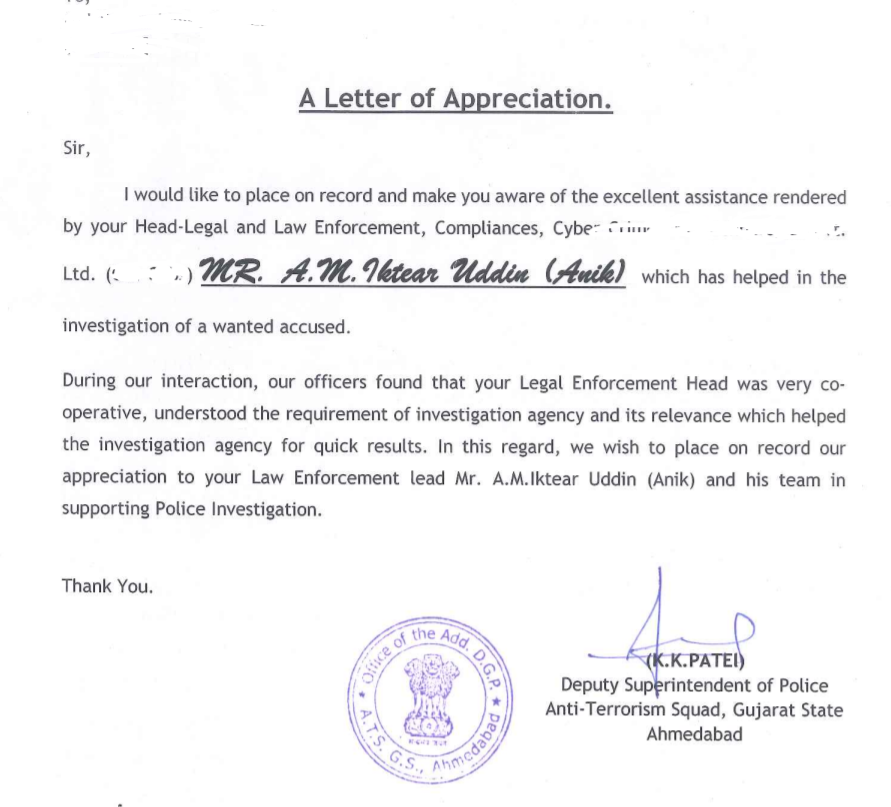 Appreciation-letter-from-Gujarat-ATS